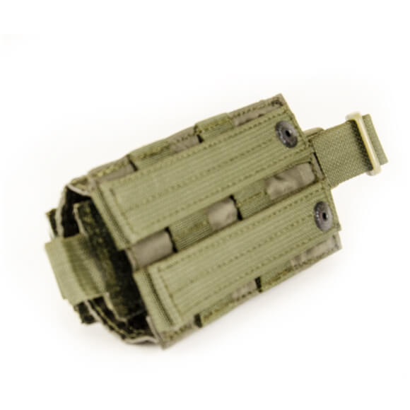 Подсумок на 12 патронов 12-го калибра MOLLE