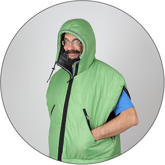 """Спальный мешок """"Aksakal 200"""" Primaloft®"""