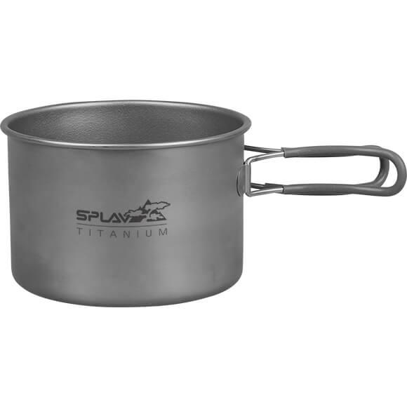 Набор титановой посуды 1 кастрюля, 1 сковородка 950+600