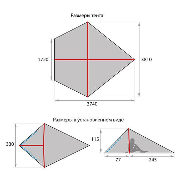 "Тент ""Pyramid"""