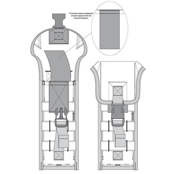 Подсумок для 2 маг. РПК v.3