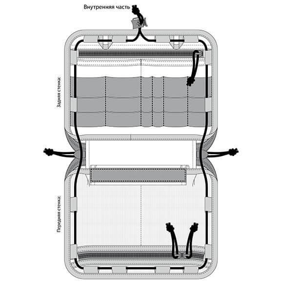 Органайзер большой/планшет v.2
